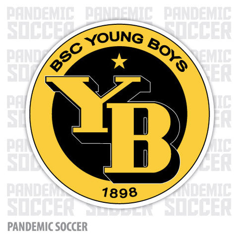 BSC Young Boys Bern Switzerland Vinyl Sticker Decal - Pandemic Soccer