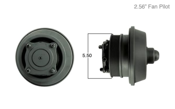 106099GTN-Remanufactured Fan Clutch-Bendix to GoldTop Conversion (Core Deposit    $225  Included in Price), (product_type), (product_vendor) - Nick's Truck Parts