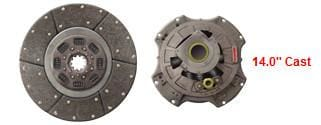107035-82  -  14 in. Cast Type Clutch, (product_type), (product_vendor) - Nick's Truck Parts
