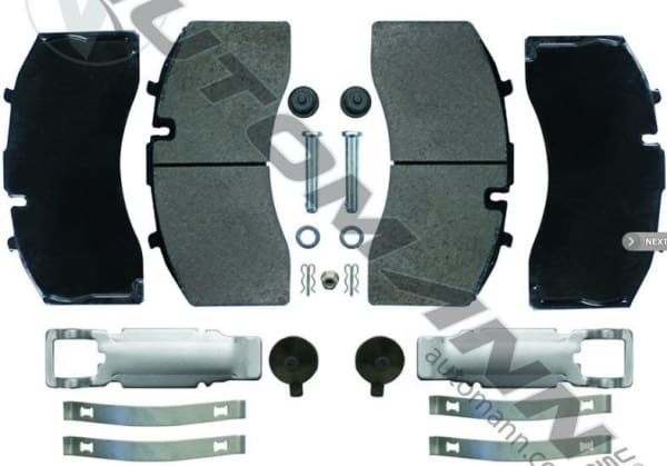 141.D1369SD-Air Disc Brake Pads Severe Duty (FMSI 8479 D1369), (product_type), (product_vendor) - Nick's Truck Parts