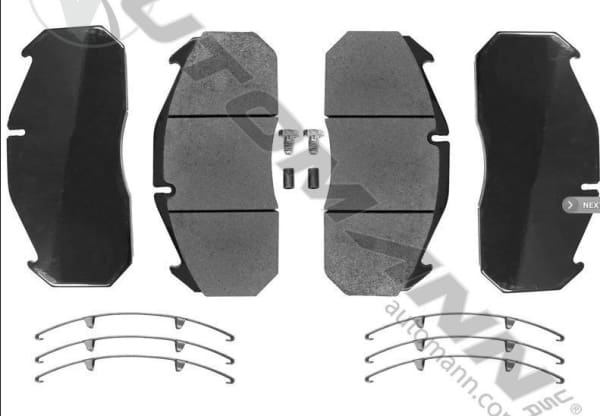 141.D1407SD-Air Disc Brake Pads Severe Duty (FMSI 8515 D1407), (product_type), (product_vendor) - Nick's Truck Parts