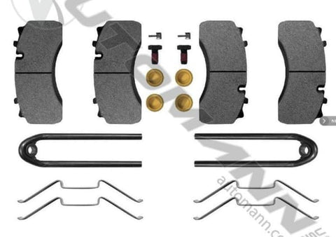 141.D1517SD-Air Disc Brake Pads Severe Duty (FMSI 8726-D1517), (product_type), (product_vendor) - Nick's Truck Parts