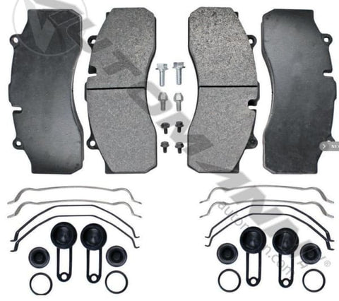 141.D1527SD - Air Disc Brake Pads Severe Duty ( FMSI# 8735 D1527 ) brake pad