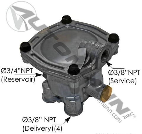170.110600- SEALCO TYPE SERVICE RELAY VALVE - brake valve