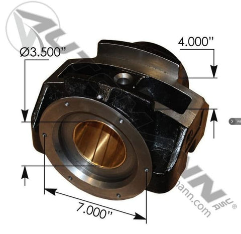 25130237- Trunnion 3-1/2 in X 4 in Mack, (product_type), (product_vendor) - Nick's Truck Parts