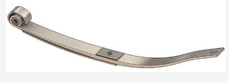 46-1474- Freightliner 1-1/2 Leaf Spring, (product_type), (product_vendor) - Nick's Truck Parts