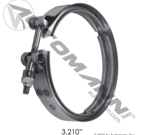 561.29321-B-V-Band Clamp Breeze, (product_type), (product_vendor) - Nick's Truck Parts