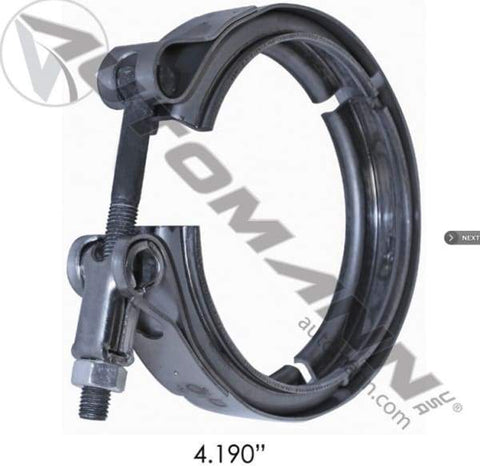 561.29419-B-V-Band Clamp Breeze, (product_type), (product_vendor) - Nick's Truck Parts
