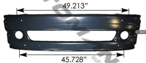 564.46216-Center Bumper Freightliner, (product_type), (product_vendor) - Nick's Truck Parts