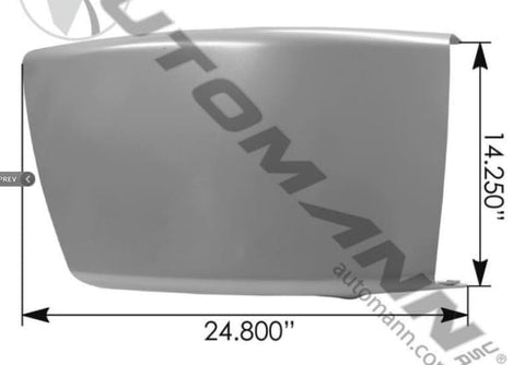 564.46223-Bumper End RH M2-112 Freightliner, (product_type), (product_vendor) - Nick's Truck Parts