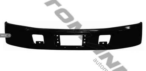 564.54022-Bumper Black Hino, (product_type), (product_vendor) - Nick's Truck Parts