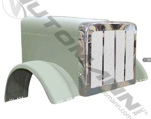 564.751360A-Hood Peterbilt 07 Up 123 in BBC, (product_type), (product_vendor) - Nick's Truck Parts