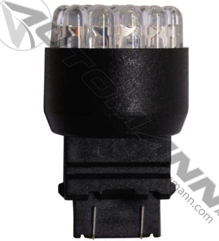 571.LD3157A19-LED Bulb Replacement for 3157 Amber, (product_type), (product_vendor) - Nick's Truck Parts