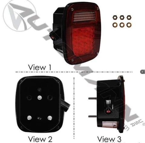 571.LD510R42 - S/T/T Box Light LED Ford RH, (product_type), (product_vendor) - Nick's Truck Parts