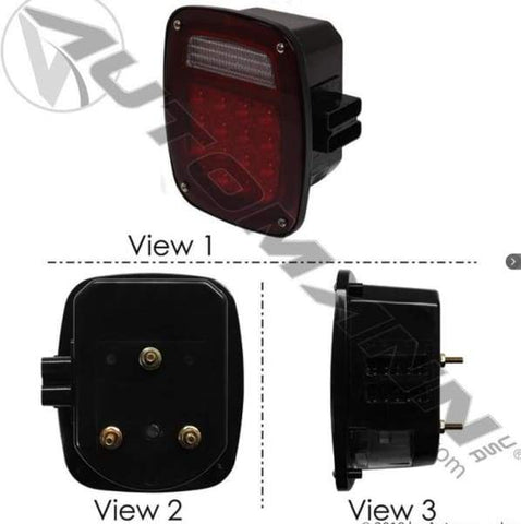 571.LD513R42 - S/T/T Box Light LED Double Metri-Pack, (product_type), (product_vendor) - Nick's Truck Parts