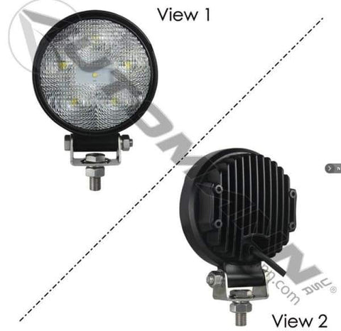 571.LD941WL6-Work Lamp LED 4in Round Flood 1170 LM, (product_type), (product_vendor) - Nick's Truck Parts