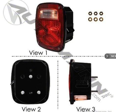 571.LG505R - S/T/T Box Light Metri-Pack LH, (product_type), (product_vendor) - Nick's Truck Parts