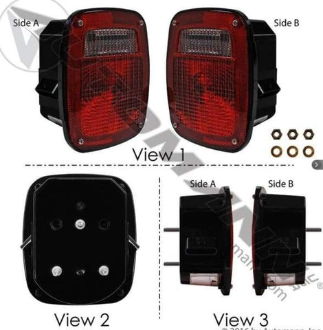 571.LG508R - S/T/T Box Light Double Metri-Pack, (product_type), (product_vendor) - Nick's Truck Parts
