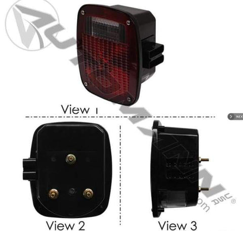 571.LG513R - S/T/T Box Light Double Metri-Pack LH, (product_type), (product_vendor) - Nick's Truck Parts