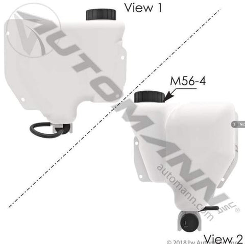 575.1021-Washer Fluid Reservoir Peterbilt, (product_type), (product_vendor) - Nick's Truck Parts