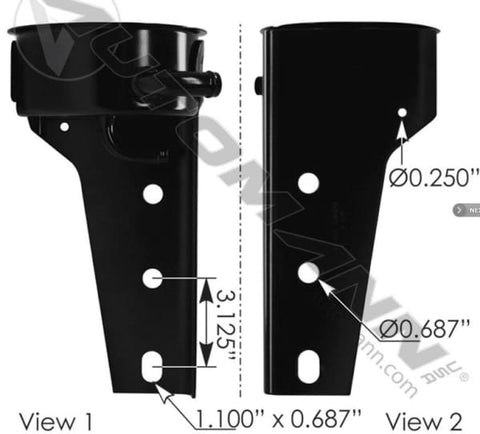 575.1027.4 - Power Steering Reservoir Base/Bracket, (product_type), (product_vendor) - Nick's Truck Parts