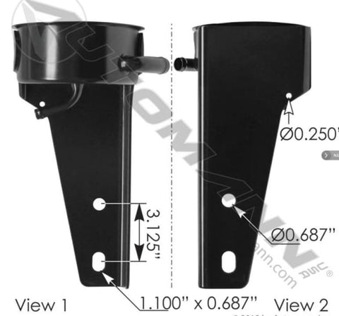 575.1028.4 - Power Steering Reservoir Base/Bracket - reservoir