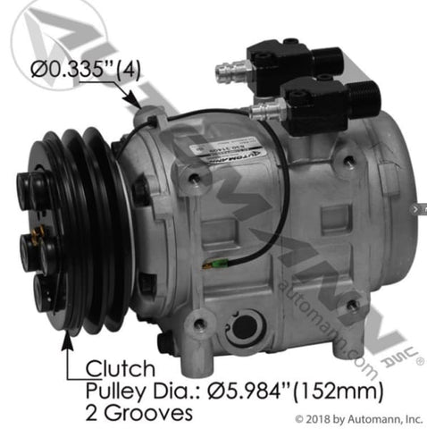 830.31409 - Air Conditioning Compressor TM31 Type, (product_type), (product_vendor) - Nick's Truck Parts