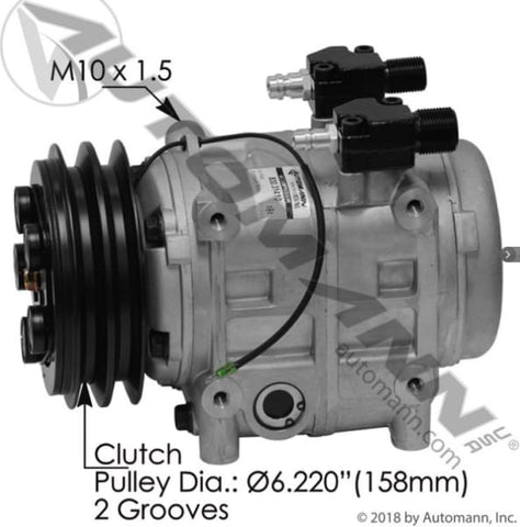 830.31410 - Air Conditioning Compressor TM31 Type, (product_type), (product_vendor) - Nick's Truck Parts