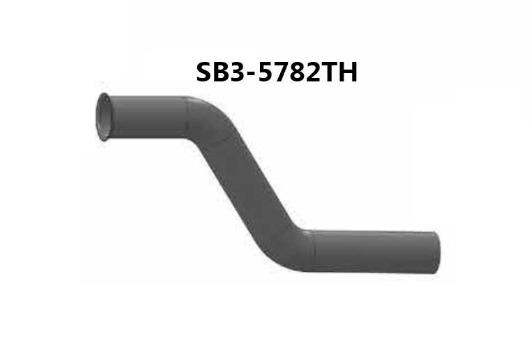 "SB3-5782TH- 4"" 2-BEND OD/FLARE ALZ, (product_type), (product_vendor) - Nick's Truck Parts"