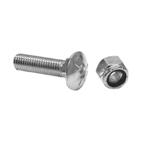 Buyers-1301061-Cutting Edge Nut & Carriage Bolt 1/2 X 2 (Set of 10), (product_type), (product_vendor) - Nick's Truck Parts