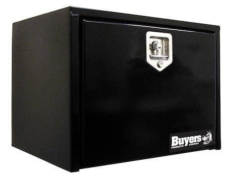 Buyers-1702295-18x18x18 Inch Black Steel Underbody Truck Box, (product_type), (product_vendor) - Nick's Truck Parts