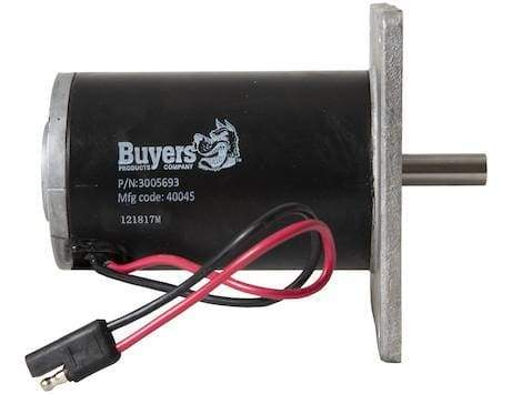 Buyers-3005693-Replacement 1.25 HP 1000 RPM Spinner Motor With SAE Connection For SaltDogg® TGSUV1B And TGSUVPRO Spreaders, (product_type), (product_vendor) - Nick's Truck Parts