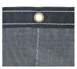 Buyers-3008209-Black Mesh Replacement Tarp-7-1/2 Ft.  x 15 Ft., (product_type), (product_vendor) - Nick's Truck Parts
