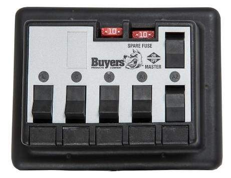 Buyers-3034457-Five Switch Prewired Panel For Anti-Ice Systems, (product_type), (product_vendor) - Nick's Truck Parts
