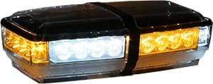 Buyers-8891052-Rectangular Amber/Clear LED Mini Lightbar, 12V, (product_type), (product_vendor) - Nick's Truck Parts