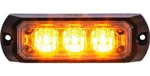 Buyers-8891400-Rectangular Amber LED Mini Strobe Light, 12-24V, (product_type), (product_vendor) - Nick's Truck Parts