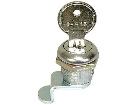 Buyers-88CH545-Replacement Lock Cylinder With Key For L8815, L8915, And L8816 Latch, (product_type), (product_vendor) - Nick's Truck Parts