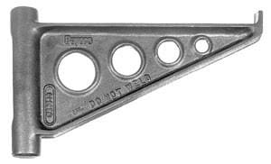 Buyers-B23510-Ductile Iron Outrigger (Brackets Sold Separately), (product_type), (product_vendor) - Nick's Truck Parts