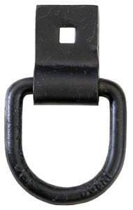 Buyers-B38S-_1/2 in. Forged D-Ring with  Integral Bracket, (product_type), (product_vendor) - Nick's Truck Parts
