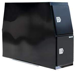 Buyers-BP855924B-59 X 24 X 85-Black B-Pack Flat Base Toolbox, (product_type), (product_vendor) - Nick's Truck Parts