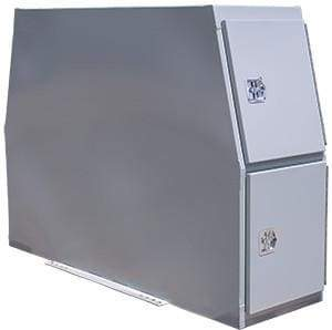 Buyers-BP855924P-59 X 24 X 85-B-Pack Toolbox with flat basw, Primer Gray, (product_type), (product_vendor) - Nick's Truck Parts