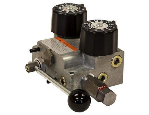 Buyers-HV1030SAE-#12 SAE Dual Flow Hydraulic Spreader Valve Only 10-30 GPM, (product_type), (product_vendor) - Nick's Truck Parts