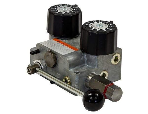 Buyers-HV715SAE-#12 SAE Dual Flow Hydraulic Spreader Valve Only 7-15 GPM, (product_type), (product_vendor) - Nick's Truck Parts