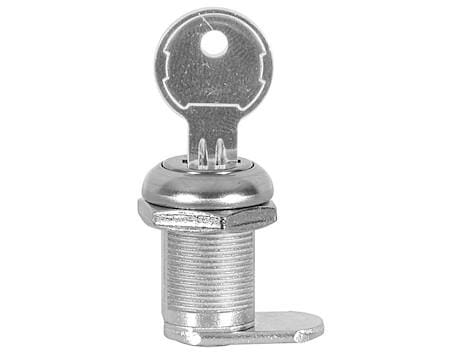 Buyers-L38RLSCH545-Replacement Lock Cylinder With Key For L3885RLS Latch, (product_type), (product_vendor) - Nick's Truck Parts