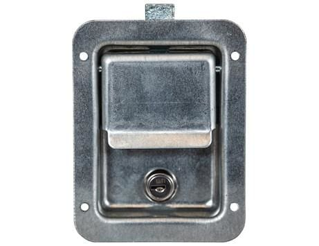 Buyers-L3980-Standard Size Rust Resistant Flush Mount Rectangular Paddle Latch, (product_type), (product_vendor) - Nick's Truck Parts