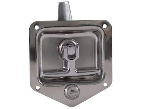 Buyers-L8835-Standard Size 3 Point T-Handle Latch With Mounting Holes, (product_type), (product_vendor) - Nick's Truck Parts