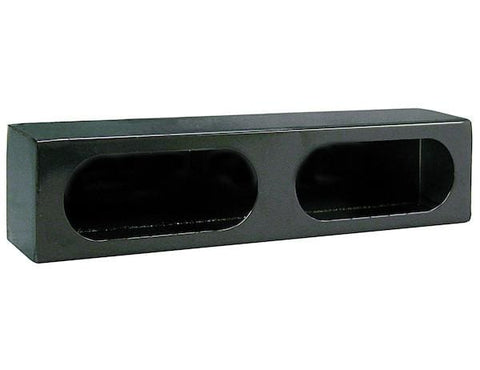 Buyers-LB3163-Dual Oval Light Box Black Powder Coated Steel, (product_type), (product_vendor) - Nick's Truck Parts