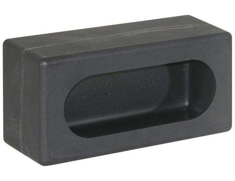 Buyers-LB383P-Single Oval Light Box Black Polyethylene, (product_type), (product_vendor) - Nick's Truck Parts