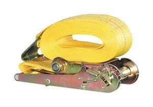 Buyers-RS132715F-3 in. X 27 Ft. Ratchet Strap with Flat Hooks, (product_type), (product_vendor) - Nick's Truck Parts