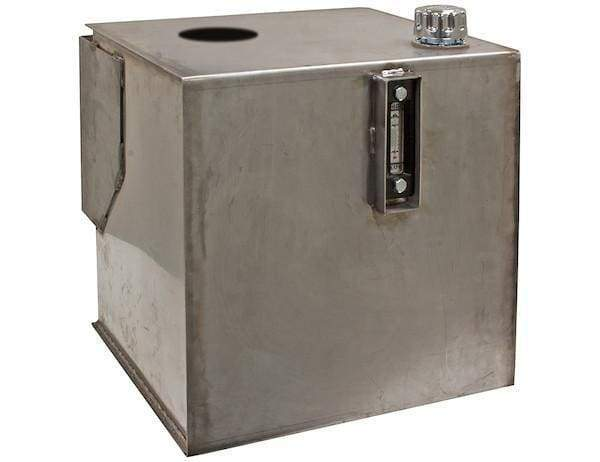 Buyers-SMR30SS-30 Gallon Stainless Steel Bulkhead Hydraulic Reservoir, (product_type), (product_vendor) - Nick's Truck Parts